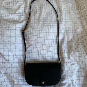 Aritzia Six Eleven Hendrick Black Crossbody Bag